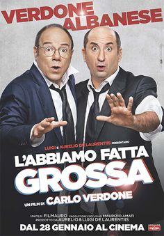 """Carlo Verdone, Antonio Albanese e la sorprendente Anna Kasian sono i protagonisti della divertente commedia """"L'abbiamo fatta grossa"""" (2015)"""