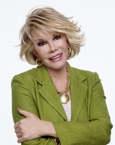 Funny Lady Joan Rivers i think i should have my hair this way when im older