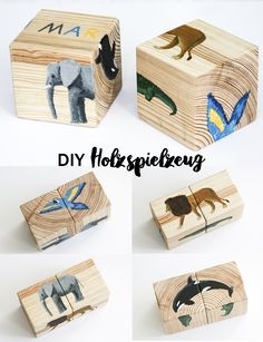 DIY wooden toys homemade DIY wooden toy wooden cube puzzle for children Kids Instructions Animals kids crafts Kids Crafts, Diy And Crafts, Craft Kids, Toy Craft, Puzzles Für Kinder, Puzzles For Kids, Wooden Crafts, Wooden Diy, Diy Toys