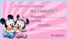 Tarjeta de cumpleaños de mickey-minnie