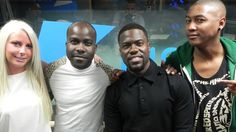 Kevin Hart makes us LOL at Kiss FM (UK)