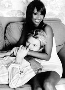 Iman and Bowie.