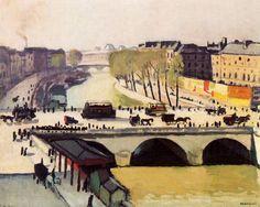 Albert-Marquet-Le-Pont-Saint-Michel-et-le-Quai-des-Grands-Augustins.JPG (800×639)