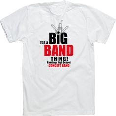 The band high schools and band on pinterest for High school band shirts