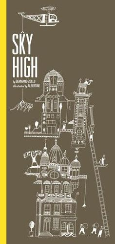 Sky High: a whimsical, wonderful art book perfect for an architect #GiveBooks