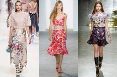 Floral renovado é uma das tendências que vão bombar no verão 2018 Classy Hair, Fashion Vestidos, Michael Kors, Sexy, Ideias Fashion, High Waisted Skirt, Sequin Skirt, Two Piece Skirt Set, Bohemian