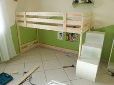 ikea mydal hack loft with storage underneath furniture pinterest lofts storage and bunk bed. Black Bedroom Furniture Sets. Home Design Ideas