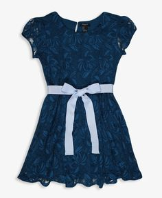 Ribbon Lace Dress | FOREVER21 girls - 2021840661