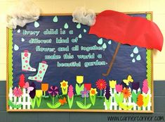 spring school bulletin board ideas - Google Search