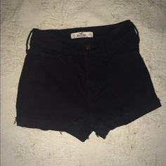 High-waisted shorts Adorable Hollister high-waisted shorts. Perfect for the summer or with tights in the winter! Hollister Shorts
