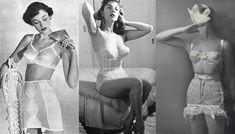 Lingerie anos 50