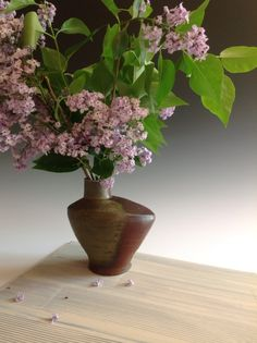 Catherine White: Lilacs In A Bird Vase 2014