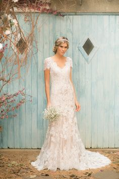 Vestido de Noiva da marca Noiva nas Nuvens - Vestidos super femininos e atuais…