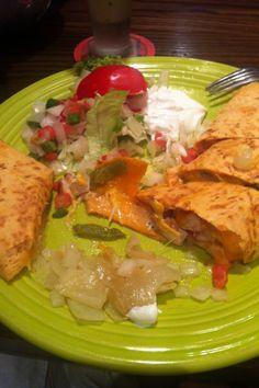 quesadilla at El Chico