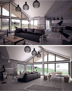 47 Ideas for vaulted ceiling lighting living room house plans Recessed Lighting Layout, Vaulted Ceiling Lighting, Vaulted Ceilings, Raked Ceiling, Overhead Lighting, Sloped Ceiling, Track Lighting, Living Room Floor Plans, Living Room Flooring