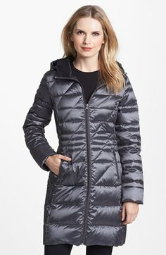 Bernardo Hooded Packable Goose Down Walking Coat (Regular & Petite) (Nordstrom Exclusive) available at #Nordstrom