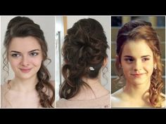 Hermione's Yule Ball Hair Tutorial - YouTube