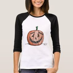 #Happy Jack Jack O Lantern Long-sleeved Tshirt - #Halloween #happyhalloween #festival #party #holiday