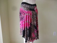 Argentinian Tango & Salsa  Skirt  fits US  4 to by COCOsDANCEWEAR