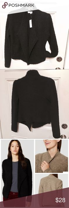 New Ann Taylor Loft Soft Open Cardigan! This soft and fuzzy sweater is so amazing! Purchased from Ann Taylor Loft, new with tags. Size small. Retails for $98. Purchased for $60+tax. OFFERS WELCOME! Ann Taylor Sweaters Cardigans