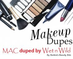 Makeup Dupes By Barbie's Beauty Bits! Why pay for the expensive products when you can get the same for less?