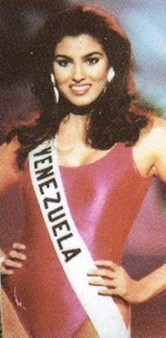 Denyse Floreano Miss Venezuela 1994. en sus actividades dentro del Top 10 del  Miss Universe 1995..