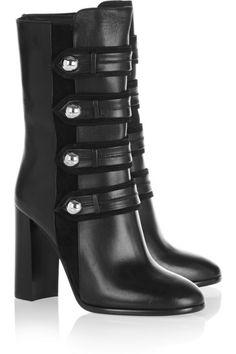 Cuir Noir, Talons, Chaussures En Cuir Noires, Chaussures Noires, Véritable  Cuir, d80934aaeba