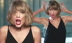 Taylor Swift rocks out to music on her phone in new Apple promo