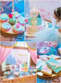 Cinderella Royal Ball Birthday Party via Kara's Party Ideas KarasPartyIdeas.com #PrincessParty #CinderellaParty #GirlPartyIdeas #PartyDecor ...