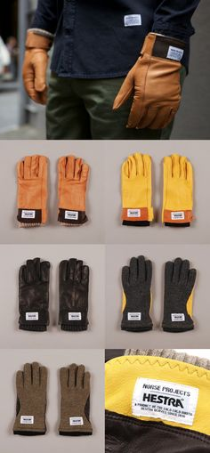 COLLABORATE: NORSE PROJECTS X HESTRA GLOVES || AcquireGarms.com