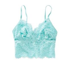 Blossom Aerie Romantic Lace Bralette - Softest lace in a pretty shape! #Aerie