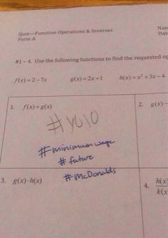 Teacher Gives Legendary Response to Student's Stupid Answer on Math Quiz