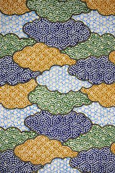 Japanese paper (washi) by G. Japanese Textiles, Japanese Prints, Japanese Design, Batik Pattern, Pattern Paper, Pattern Art, Chinese Patterns, Japanese Patterns, Japanese Paper