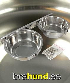 Mat och vattenskålar