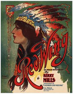 Vintage Song Poster - Redwing