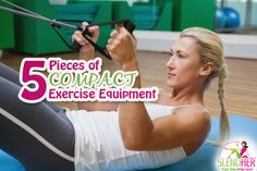 5 Pieces of Compact Exercise Equipment Perfect for Small Places - http://www.slendher.com/womens-fitness/5-pieces-of-compact-exercise-equipment/  If you're not a fan of the gym or their expensive membership fees, it might be time to bring the workout home. That may seem like an unfunny joke if your square footage teeters on tiny home size or your kids, along with their toys and gear, already have your living quarters busting at the sea... #compactexerciseequipment