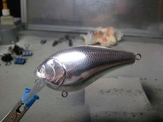 "Lure Foil - ""on the cheap"" Use metal duct tape to transform your lures. - Lure Foil – ""on the cheap"" Use metal duct tape to transform your lures. Diy Fishing Bait, Homemade Fishing Lures, Bass Fishing Lures, Best Fishing, Kayak Fishing, Fishing Tackle, Fishing Tips, Fishing Stuff, Catfish Fishing"
