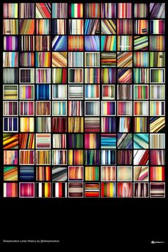 Streamcolors Lines History - Big Poster by streamcolors Bookcase, History, Big, Poster, Home Decor, Historia, Decoration Home, Bookcases, Interior Design