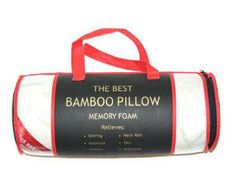 Enter to Win A Bamboo Memory Foam Hypoallergenic Pillow - Ends August 18th at Midnight