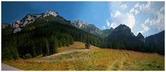 Panorama Doliny Kościeliska - Tatry Zachodnie