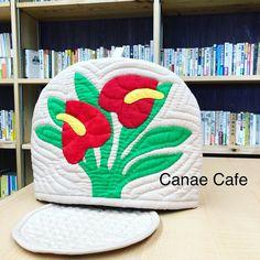 tea cozy#tea cozy#hawaiihawaiianquilt#ハワイアンキルト#canaecafe