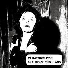 """10 octobre 1963 : Adieu Edith Piaf ... L'auteur de """"L'Hymne à l'amour"""" - chanson dédiée au boxeur français Marcel Cerdan décédé dans un accident d'avion en 1949 - succombe à ses excès : alcool drogue et différents accidents de voiture avaient fragilisé sa santé depuis les années 50. Elle aura suivi plusieurs cures de désintoxication poursuivi ses activités professionnelles et même épousé le chanteur grec Theo Sarapo mais finit par tomber dans le coma et s'éteint un jour avant son ami Jean… Marcel, Instagram, Fictional Characters, Good Bye, Love, Vocational Activities, Car Crash, October 10, Fantasy Characters"""