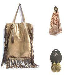 Look do dia!   - Bolsa franja http://loja.lollisacessorios.com.br/product/657754/bolsa-franja  - Lenço estmapado http://loja.lollisacessorios.com.br/product/634064/lenco-estampa-bichos  - Brinco oval cruz ouro velho http://loja.lollisacessorios.com.br/product/637684/brinco-oval-cruz-vazada-ouro-velho