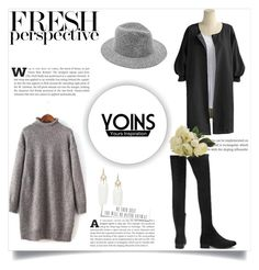 """""""#YOINS 3/1"""" by amina-haskic ❤ liked on Polyvore featuring women's clothing, women's fashion, women, female, woman, misses, juniors and yoins"""