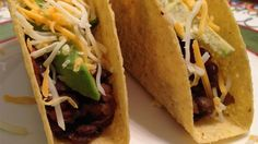Tasty Lentil Taco recipe.  This fun taco dish is both healthy and delicious. It will be a hit with the entire family! Serve with your favorite taco fillings, such as sour cream, chopped tomatoes, shredded lettuce, and Cheddar cheese. NOTE: Vegetarians, substitute light vegetable broth for the chicken broth.