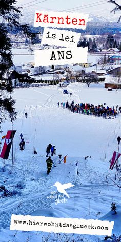Wintersport in Kärnten: Eislaufen, Skifahren und Rodeln sind dir zu langweilig?  Du liebst das Abenteuer und bist für jeden Spaß zu haben? Dann wirst du unsere verrückten Veranstaltungsempfehlungen lieben! #kärnten #wintersport #wintersportinkärnten #skispringen #fassdaubenrennen #zipfelbob #urlaubinkärnten #urlaubinösterreich #ausflügeinkärnten #ausflügeinösterreich #freizeitspaß #ausflügemitkindern #highlightsinkärnten Sports, Movie Posters, Movies, Ice Skating, Ski, Adventure, 2016 Movies, Film Poster, Films