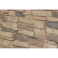 Laguna Faux Stone - Cappuccino Faux Stone Panels, Faux Panels, Interior Design Software, Best Interior Design, Stone Veneer Siding, Faux Brick, Home Improvement, Wood, Basement