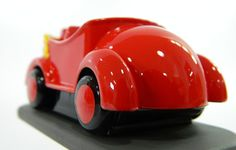 The Wiggles Big Red Car | Powerhouse Museum Sydney. We took this project from concept to production. Starting with an image of the real Big Red Car, we measured and computer modelled until it looked just right. The car was then 3D printed, hand finished and prepped for moulding. We used a single cavity silicone tool and produced multiple iterations of the car in rigid polyurethane. After a lick of 2pac paint these tiny treasures were ready for the grips of even the strongest of toddlers.