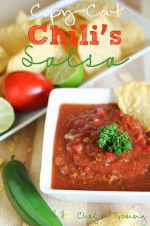 Copy Cat chips and Salsa
