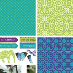 Download the India Collection (Part 2) printable papers. This collection features patterns, images and sentiments.